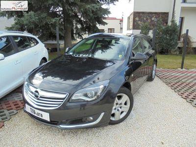 używany Opel Insignia 2dm3 130KM 2015r. 169 000km 2.0CDTI 130KM Salon BEZWYPADKOWY Serwisowany w ASO F Vat 23%