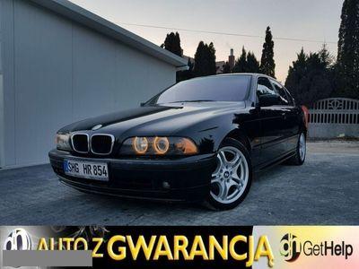 używany BMW 525 seria 5 2.5dm3 163KM 2003r. 184 410km E39 d * Bardzo Ładna * Pierwszy właściciel * OKAZJA !!