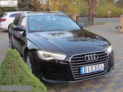 brugt Audi A6 2dm3 190KM 2015r. 101 546km FV23% Xenon NAVI dvd 190KM KAMERA LED S LINE Idealna Kubełki