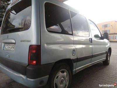 używany Peugeot Partner Osobowy 2004r+Gaz sekwencja 6-lat ważny