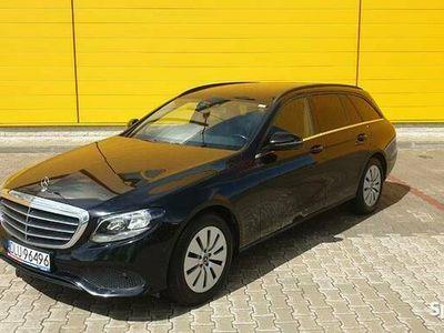 używany Mercedes E200 E klasabenzyna W216 2018 rok, 184 KM automat