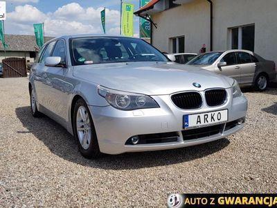 używany BMW 520 2dm3 163KM 2006r. 201 000km ABS automatyczna klima.