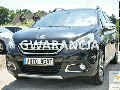 używany Peugeot 2008 nawi*panorama dach*gwarancja*bluetooth*zestaw głośnomówiący*ledy*