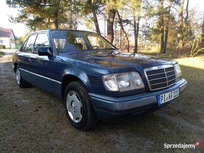 używany Mercedes E250 w124 e klasa D z Niemiec
