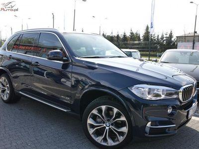 używany BMW X5 3dm3 306KM 2014r. 43 918km ABS automatyczna klima.