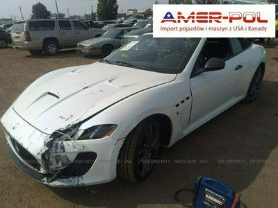 używany Maserati Granturismo 4.7dm 454KM 2015r. 57 025km