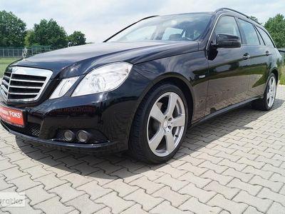używany Mercedes 200 Klasa E W212avantgarde skóra navi niski przeb. tylko 124 tys. km.