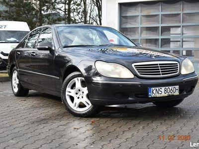 używany Mercedes 320 W220CDI - SALON POLSKA, KLIMA,XENNON,SKÓRY, NAVI