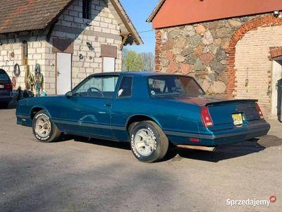 używany Chevrolet SS Monte Carlo 1986 Modeldobrze zachowany SZPERA, MOCNY ! IV (1981-1988)