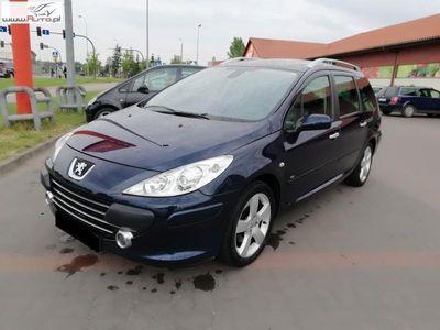 używany Peugeot 204 307 SW 2dm3 136KM 2006r.694km 2.0 HDI, Panorama Skóra Navigacja Zadbany SW 7 OS.Alufelgi