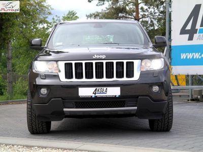 używany Jeep Grand Cherokee 3dm3 241KM 2012r. 221 000km Salon PL*1 Właściciel*LIMITED*241 KM*4x4*Skóra*Kamera*Bi-Xenon