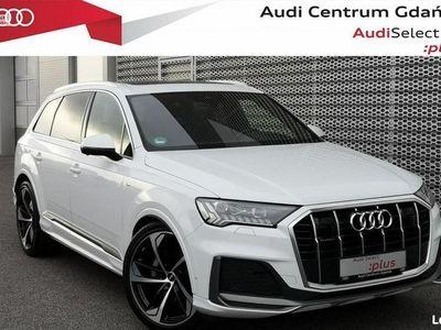 używany Audi Q7 50TDI 7os.|Dach|Lasery|Hak|Masaże|Webasto|Oś skrętna|Bose