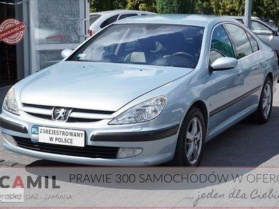 używany Peugeot 607 2.2 HDi 133KM, Climatronic, Tempomat, Zarejestrowany, Ubezpieczony