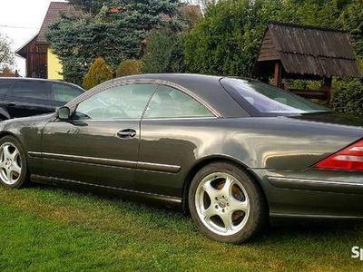 używany Mercedes CL500 W215,z LPG