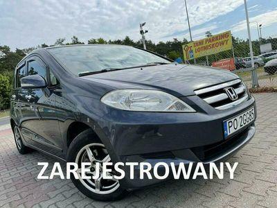 używany Honda FR-V 1.7 KAT 125KM Bogata Wersja Zarejestrowana w Polsce Niski Przebieg!