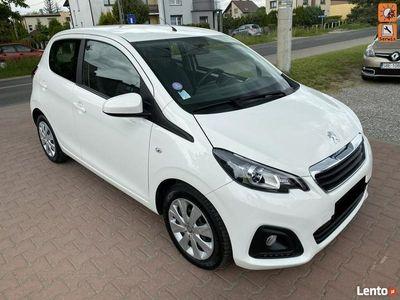 używany Peugeot 108 1,2 VTi 82KM Klimatyzacja Bluetooth