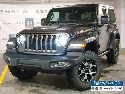 używany Jeep Wrangler III [JK] JL Rubicon 2.0 265KM Benzyna   Grafitowy / Czarna skóra   2019, Warszawa