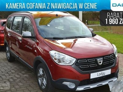 używany Dacia Lodgy STEPWAY 1.3 TCe 130KM FAP 7-os | Kamera cofania | Nawigacja, Chorzów