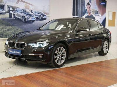 używany BMW 320 SERIA 3 320 d xDrive Luxury Line aut Salon PL 1wł. Gwarancja, Warszawa