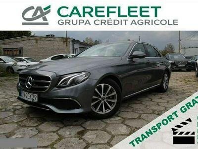 używany Mercedes E220 2dm 195KM 2019r. 36 603km