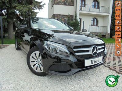 używany Mercedes C200 Klasa C W205184KM 9G Tronic Gwarancja Salon BEZWYPADKOWY Serwis F vat 23%