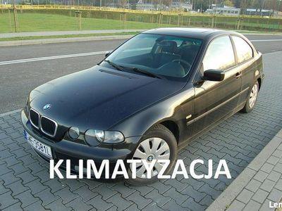 używany BMW 318 1.8dm3 115KM 2003r. 162 000km Compact/Klimatronik/Parktronik/Szyberdach/z Niemiec