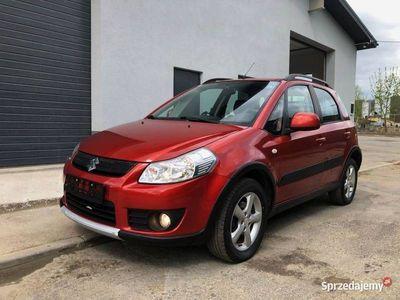 używany Suzuki SX4 2008r 1.6Benzyna 4x4 klima alufelgi ks serwisowa