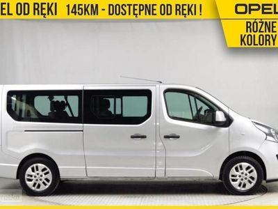 używany Opel Vivaro II 145KM, 9 miejsc, RÓŻNE KOLORY, NAVI, Drzwi x2, Pakiet SPORT Od Ręki, Chorzów