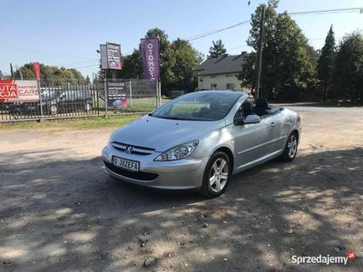 używany Peugeot 307 CC Cabrio, Tempomat, Alufelgi, Zadbany, Klimatro