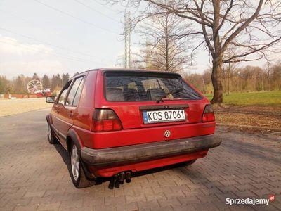 używany VW Golf II 1.3 wielopunkt stan bdb