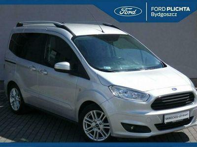 używany Ford Tourneo Courier 1.0 ECOBOOST 100 KM TITANIUM FV23% Gwarancja Salon PL Plichta