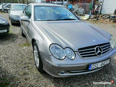 używany Mercedes CLK200 kompresor + GAZ W209 (2002-)