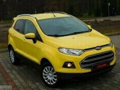 używany Ford Ecosport II Zarejestrowany - przebieg 93.000 km - bezwypadkowy