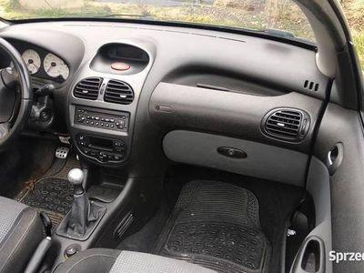 używany Peugeot 206 CC 2.0