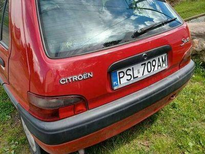 używany Citroën Saxo 1.1 niezawodne auto