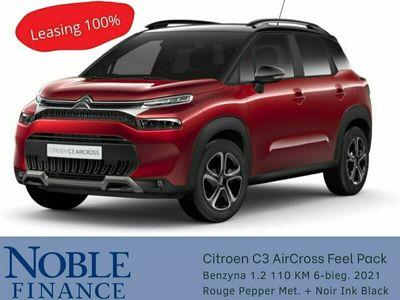 używany Citroën C3 Aircross 1.2dm 110KM 2021r. 3km