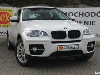 używany BMW X6 3.0d 245KM x-Drive, climatronic, alufelgi, skóra, xenon, navi