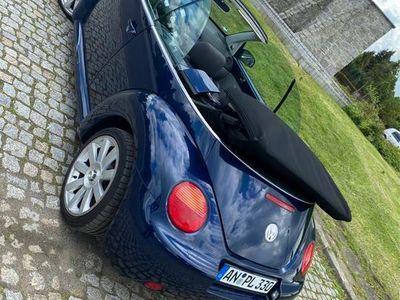 używany VW Beetle kabriolet cabrio klima 1,6 benzyna okazja