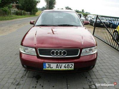 używany Audi A4 1,8 b KLIMATRONIC stan jak nowy przygotowany do rej opł koszt 245zł B5 (1995-2001)