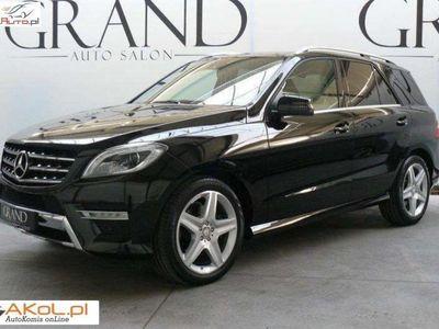 używany Mercedes ML350 3dm3 258KM 2012r. 38 900km CDI AMG Edition 1, Faktura VAT