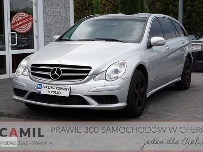 używany Mercedes 350 Klasa R W2513.5 Benzyna + GAZ 272KM, 4 MATIC, AUTOMAT, Panorama, Pełnosprawn