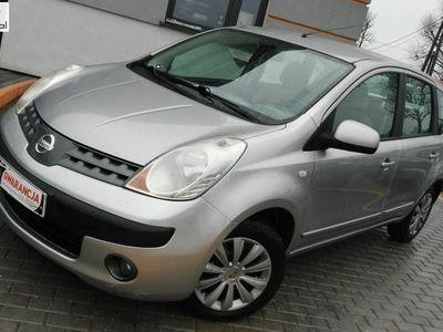 używany Nissan Note 1.6dm3 110KM 2006r. 214 408km 1.6 benzyna,alumy,klima,dwa komplety opon,gwarancja,