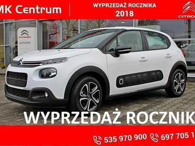 """używany Citroën C3 1.2dm3 82KM 2018r. 5km 1,2 82KM Feel - koła 16"""", Airbump, pak. widoczność, klima auto !!!"""