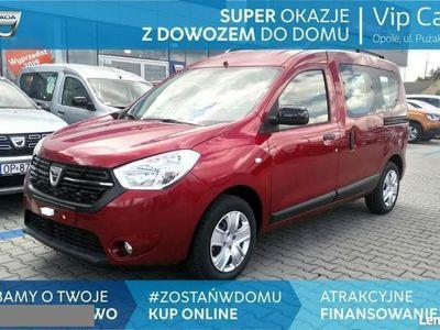 używany Dacia Dokker Laureat 1.3 TCe 100 KM, NAVI, kamera cofania, czujniki parkowania !!!