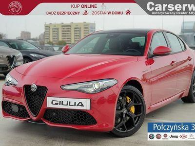 używany Alfa Romeo Giulia Veloce 2.0 280 KM | Czerwony|Czarna skóra |Szklany dach| MY2020