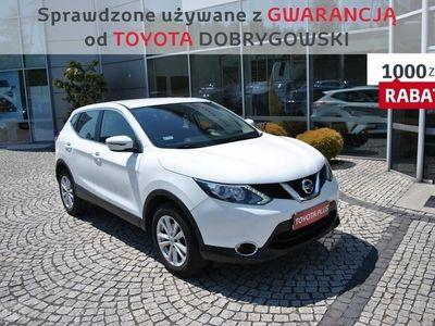 używany Nissan Qashqai II 1.2 DIG-T Acenta, Gwarancja, Oferta Dealera, Lubin