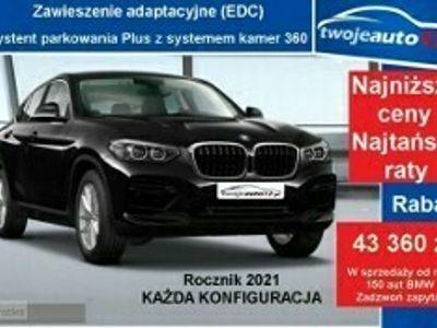 używany BMW X4 II xDrive20d,Adaptacyjne LEDY, Asystent parkowania z kamerą, Rocznik 20
