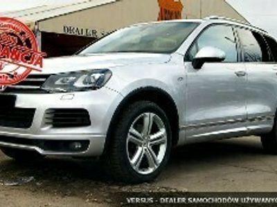 używany VW Touareg II 3.0TDI 245ps 4x4 R-line Salon PL ASO 1wł Zamiana Raty Gwar.