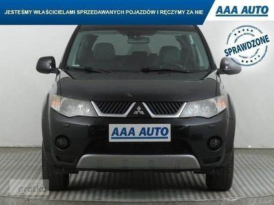 używany Mitsubishi Outlander II Salon Polska, 4X4, 7 miejsc, Skóra, Xenon, Klimatronic,