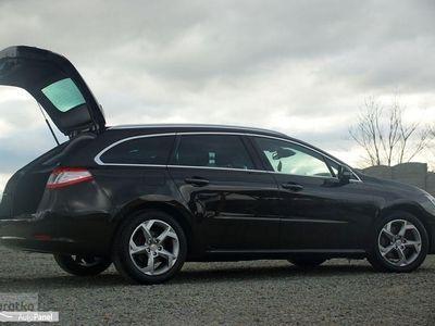 używany Peugeot 508 PANORAMA skóra nawi HEAD UP alusy parktronik AUTOMAT F1 manetki, Otmuchów